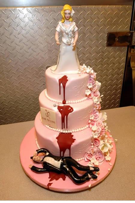 Kue tart perceraian unik