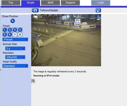 melihat webcame di internet