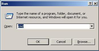 membuka comand prompt