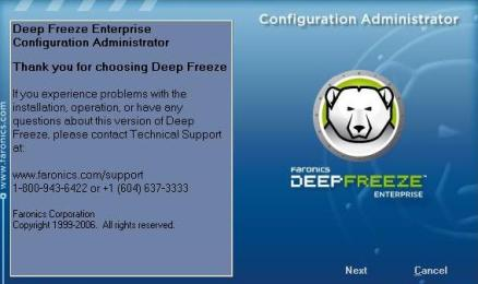 menonaktifkan deep freeze