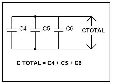 rangkaian kapasitor paralel
