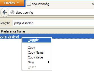 mengkonfigurasi firefox agar bisa membuka pdf