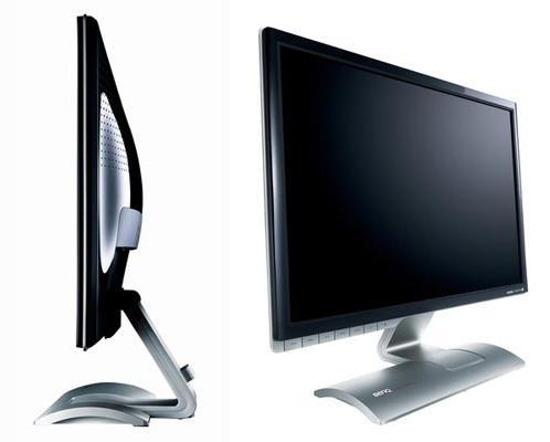 monitor LCD ciri umumnya adalah berbentuk tipis