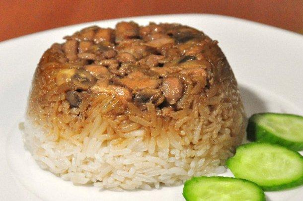 Nasi Tim Ayam Jahe