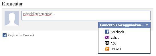 plugin komentar facebook