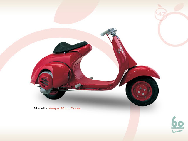 Vespa 98 cc Race