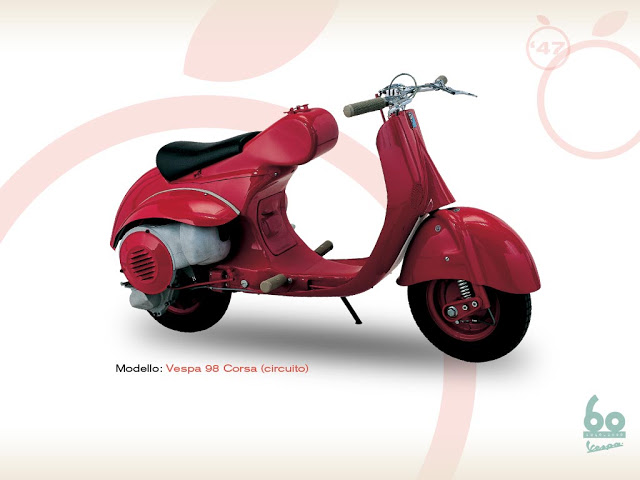 vespa 98 cc racing (circuit)