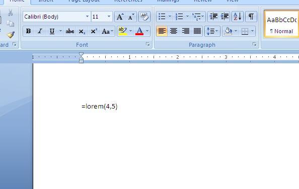 Cara Membuat Dummy Text Lorem Ipsum