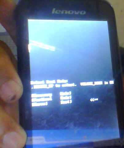 masuk ke menu booting android
