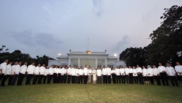 Susunan Menteri Kabinet Kerja Jokowi-JK