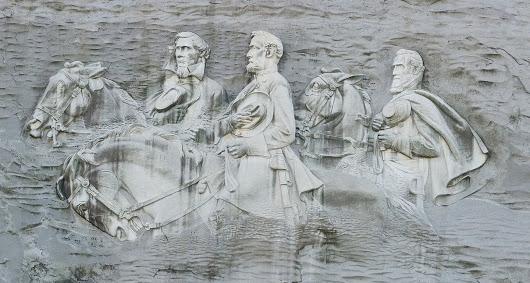 The Confederate Memorial Carving