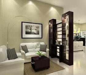 Desain Interior Rumah Minimalis Dengan Warna Cantik