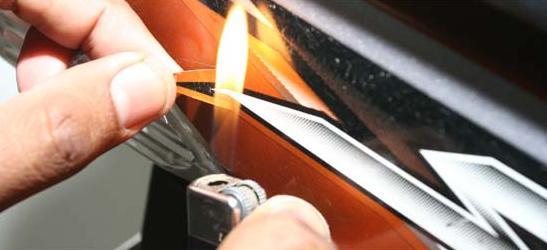 cara melepas striping kendaraan