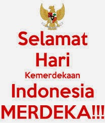 dp bbm - selamat hari kemerdekaan indonesia merdeka