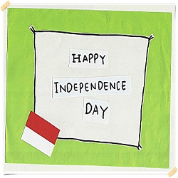 dp bbm - happy independence day