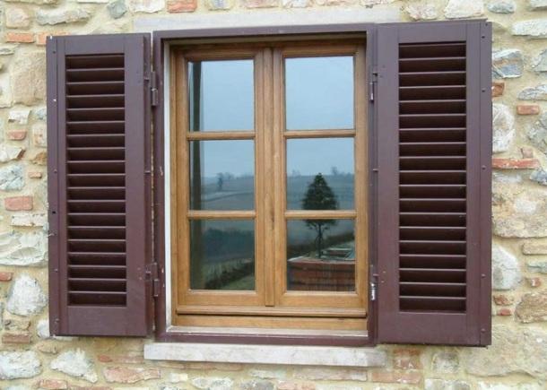 contoh desain jendela dari kayu